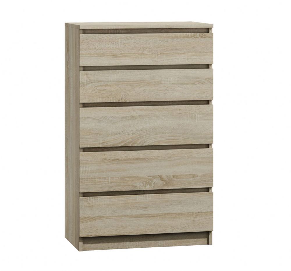 Moderna Sonoma - 5 Drawer